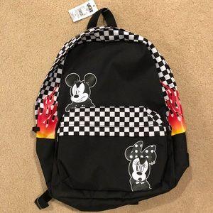 VANS Disney Backpack- NWT